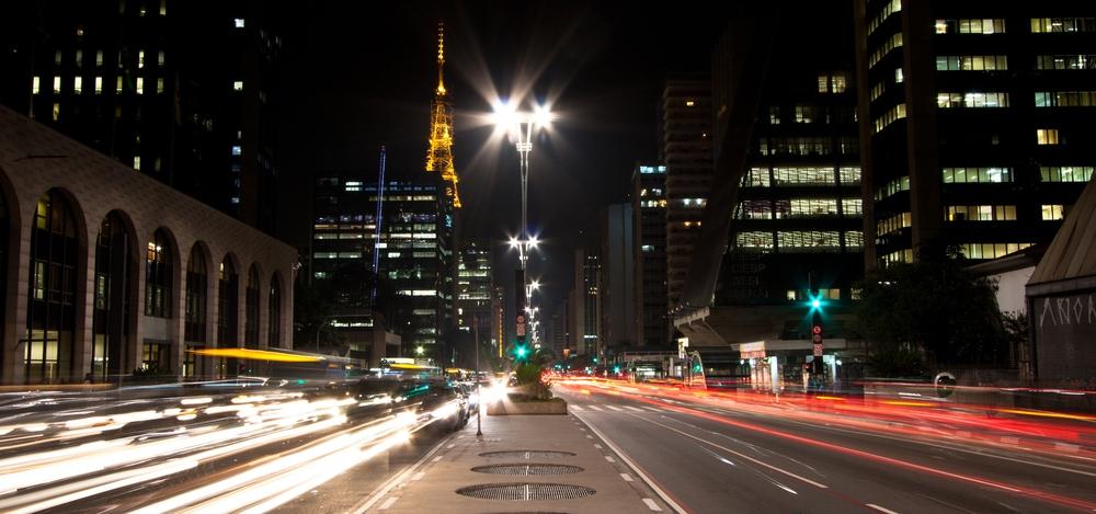 Night view of Paulista