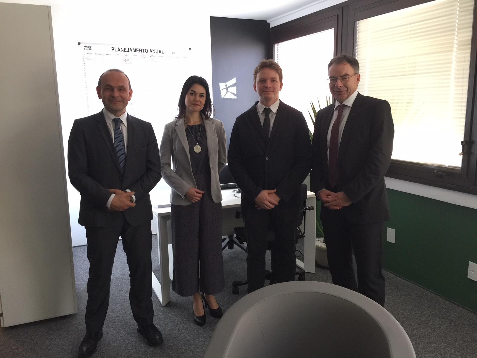 Visit Prof Bieger and Ambassador Mauruzzi
