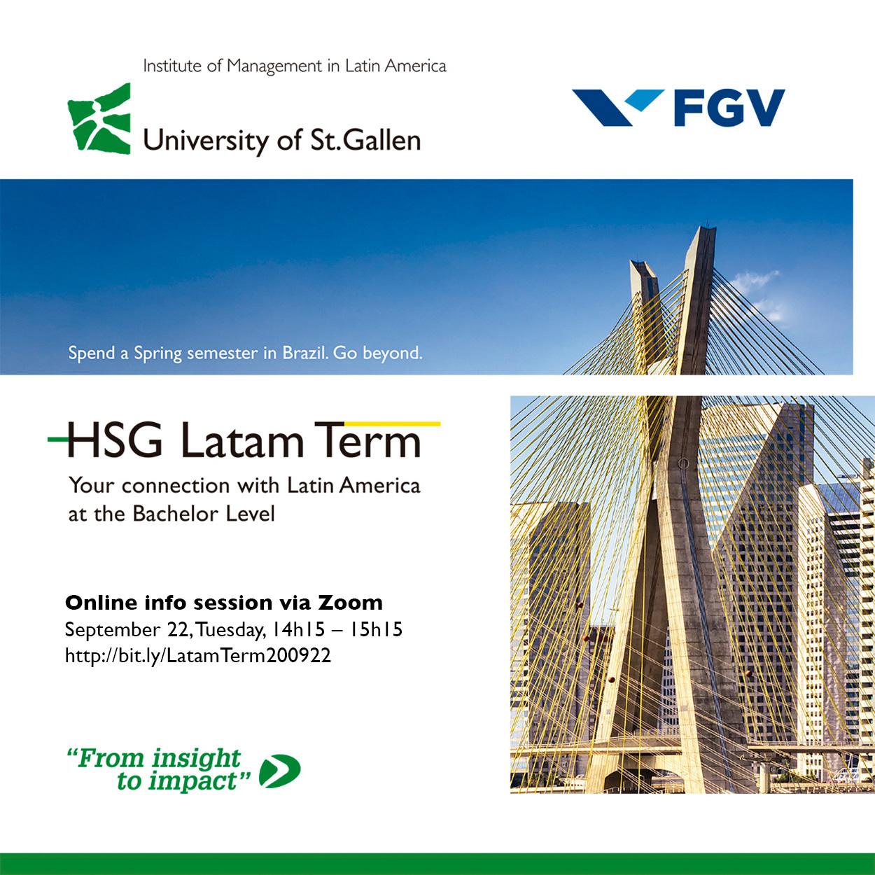 Latam Term info session September 20