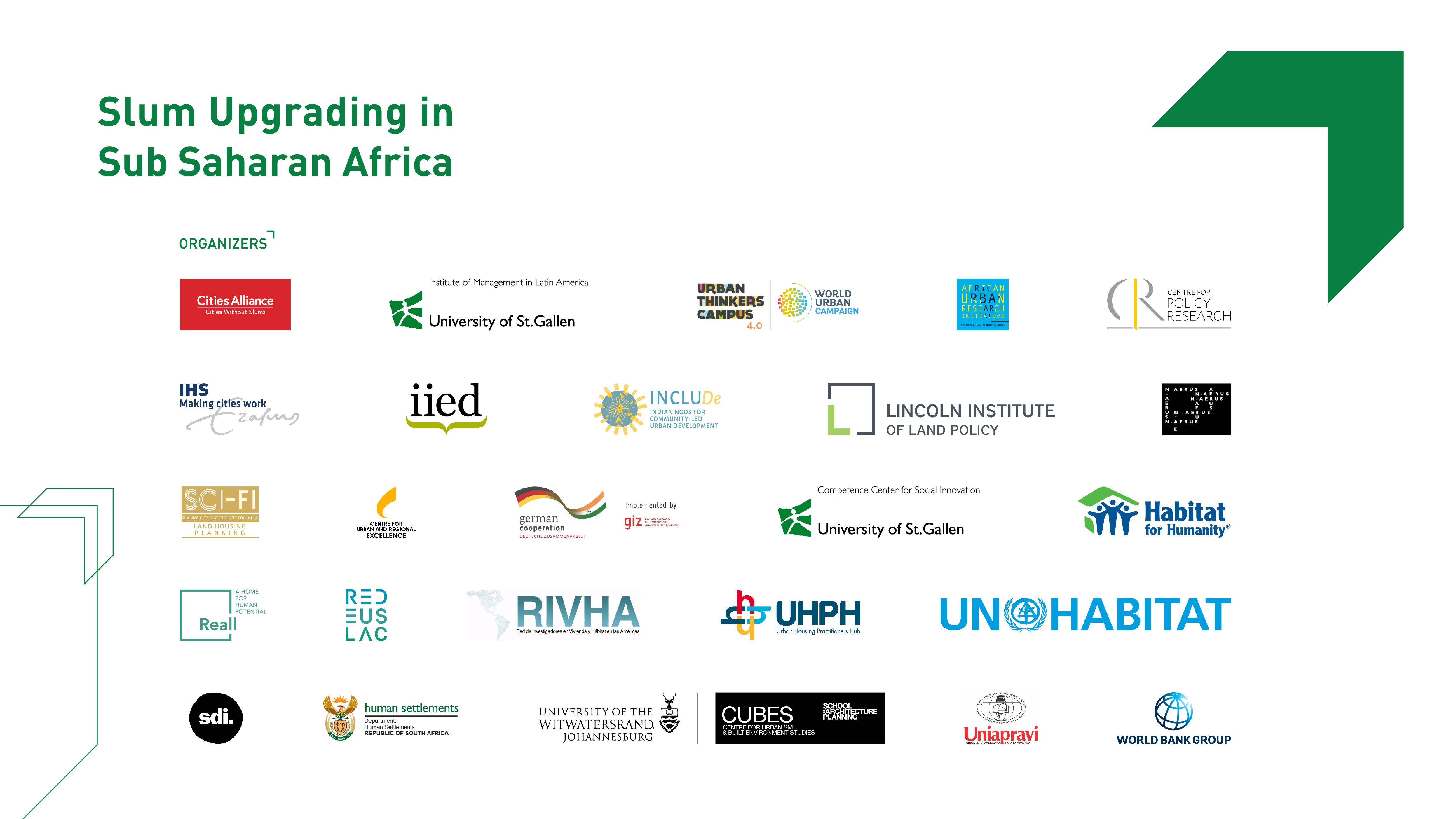 UTC Sub Saharan Africa Institutions